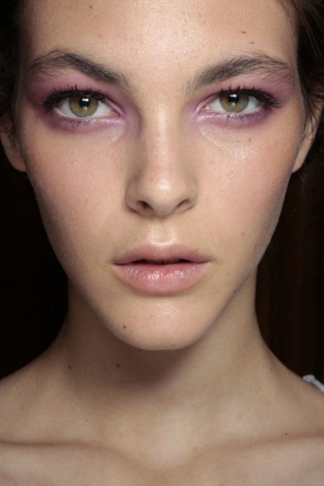 Makeup design for Matthew Williamson via Harpers Bazaar