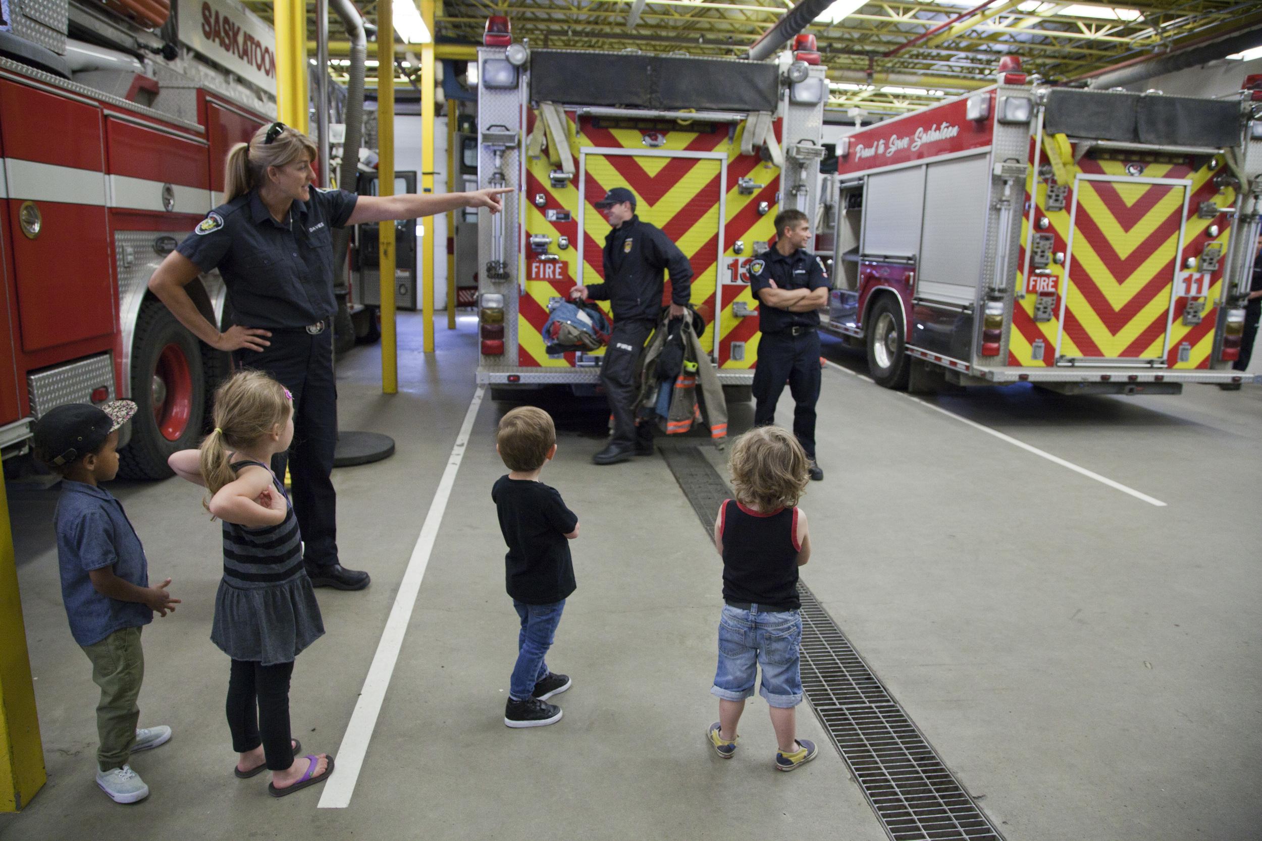 Debbie Davies Saskatoon Fire Department