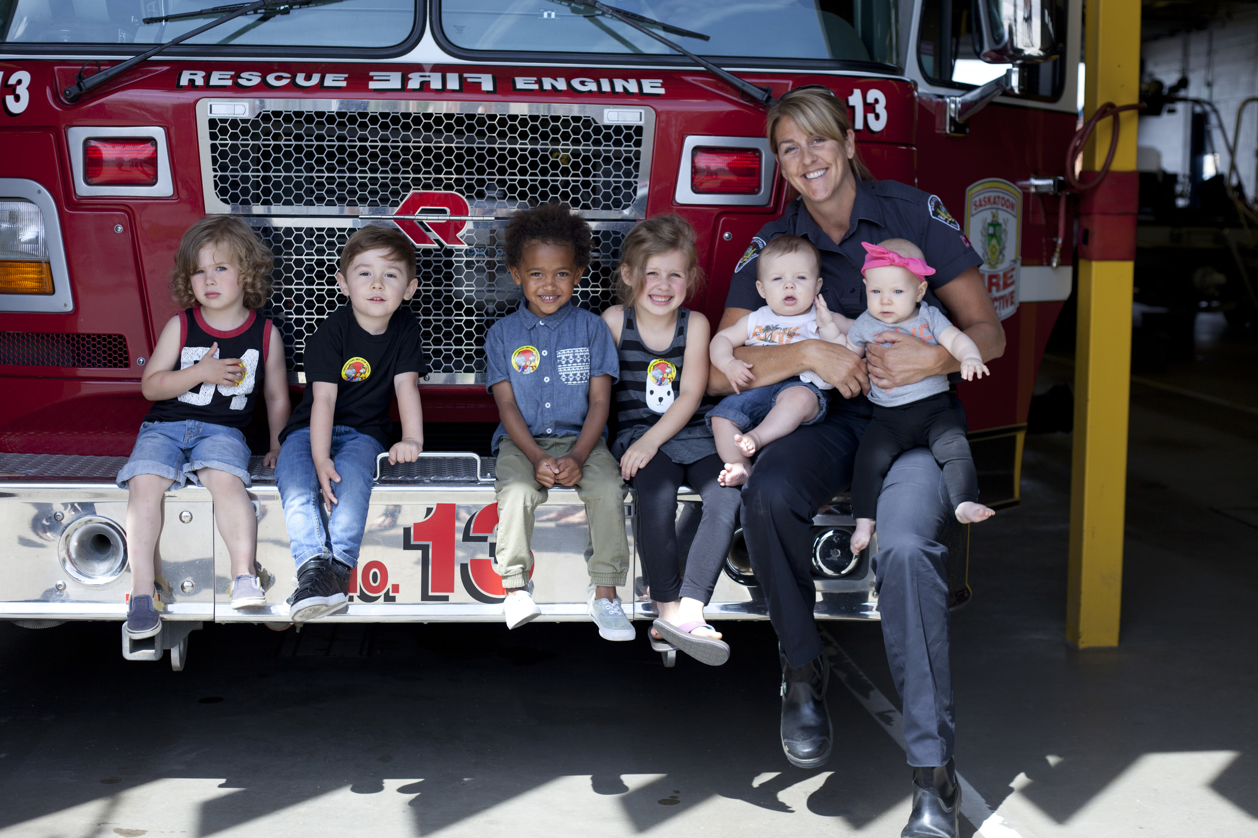 Saskatoon Fire Department tour