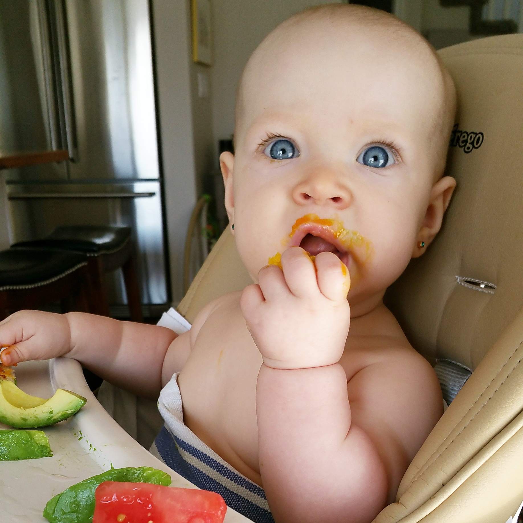 baby led weaning FAQ tips and recipes