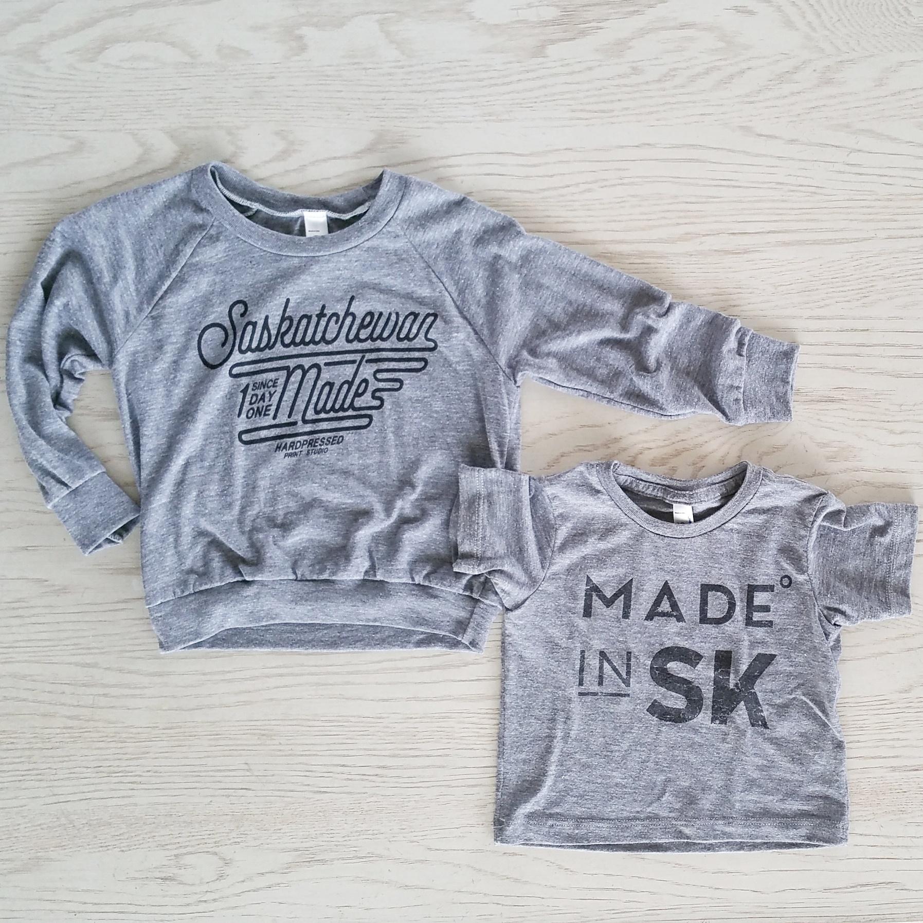 Hardpressed Saskatoon baby clothes