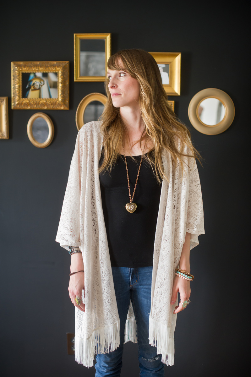 Wow.... The perfect kimono which could be dressed up or dressed down with jeans.