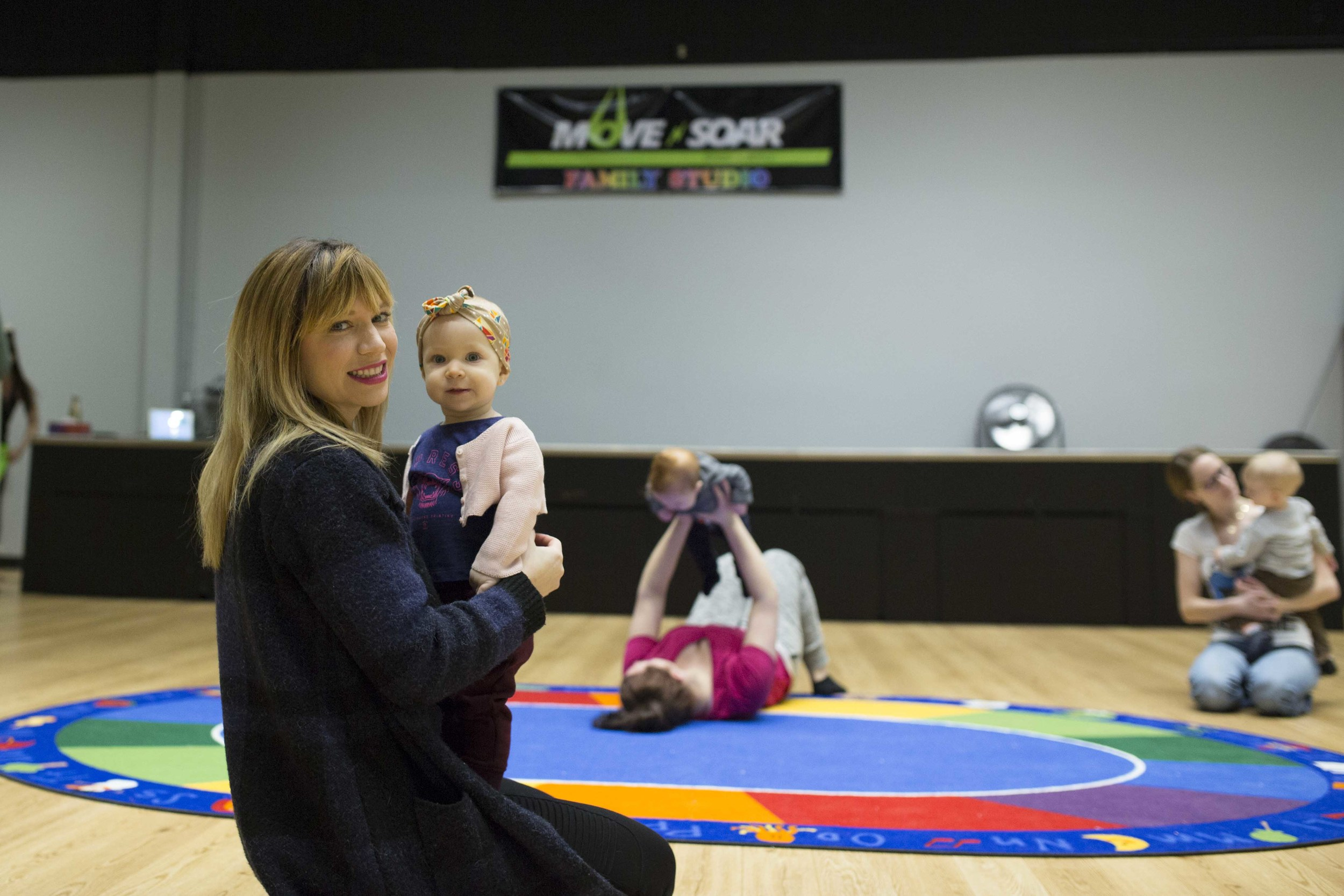 Move N Soar Saskatoon Baby and Family classes