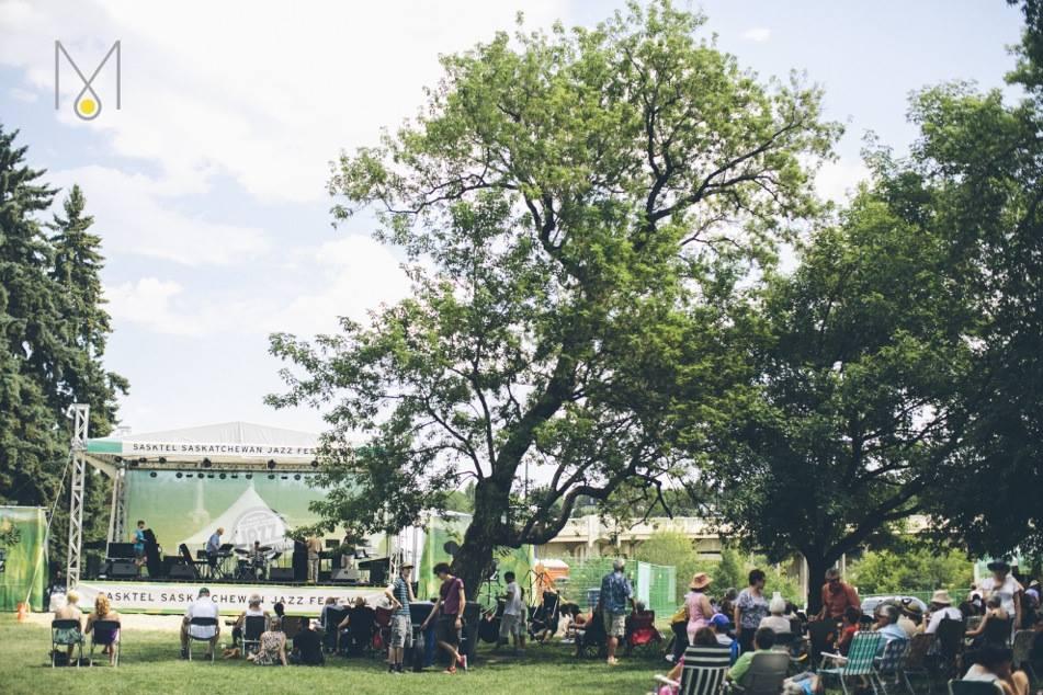 sasktel jazzfest freestage by demophoto