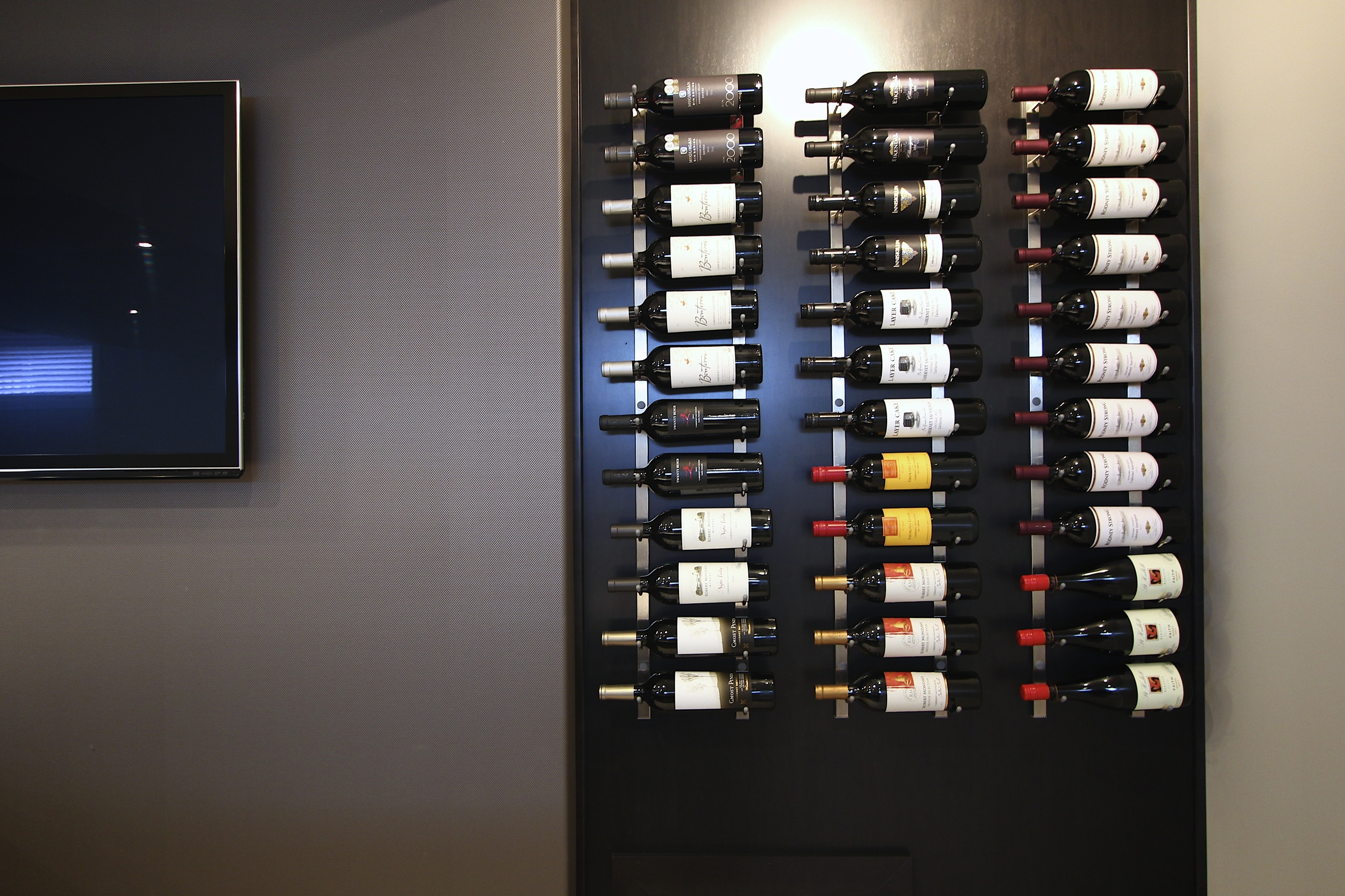 Wine lover? Why not display your passion for the good stuff with an interesting wall rack.