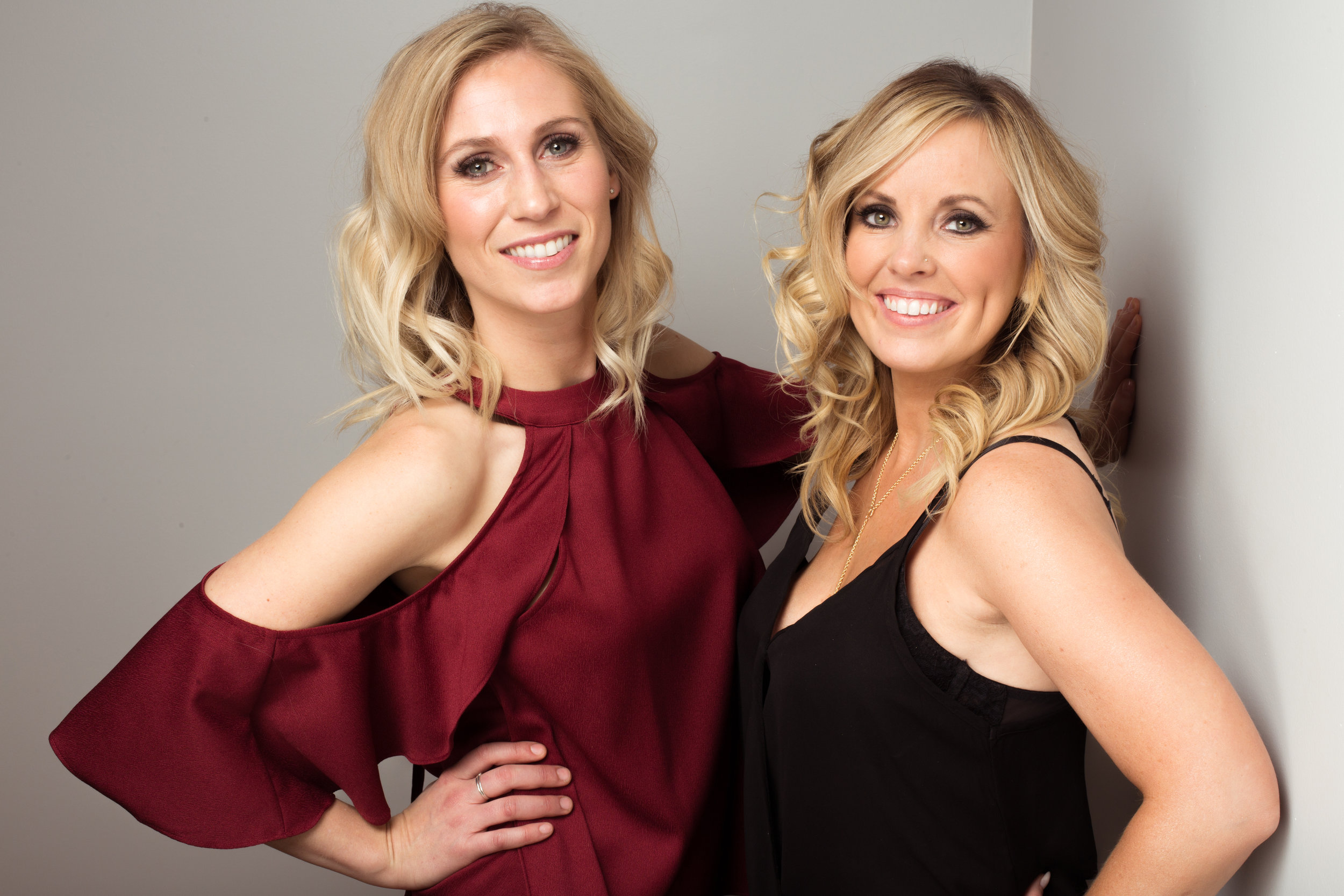 Maile Crow and Holly Decker girls night out by Erin Crooks