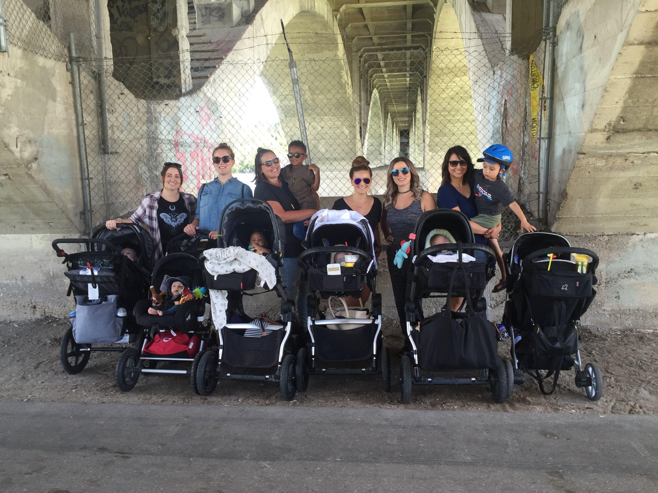 Stroller squad