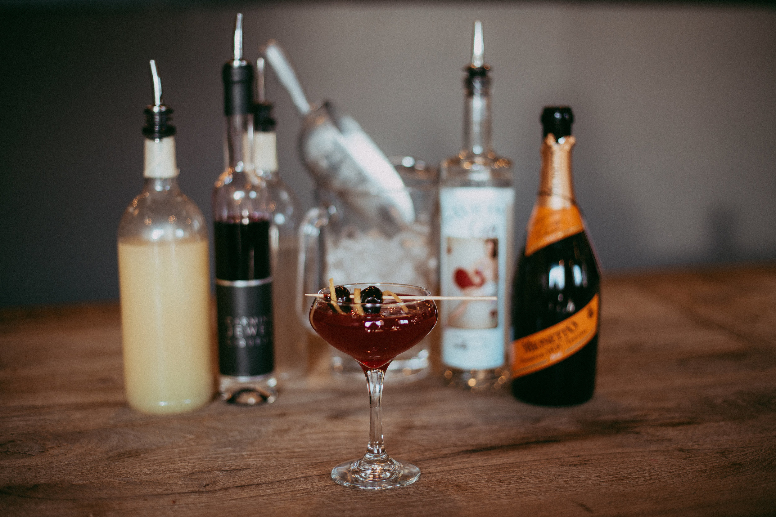 The French 75 I mean 76 recipe