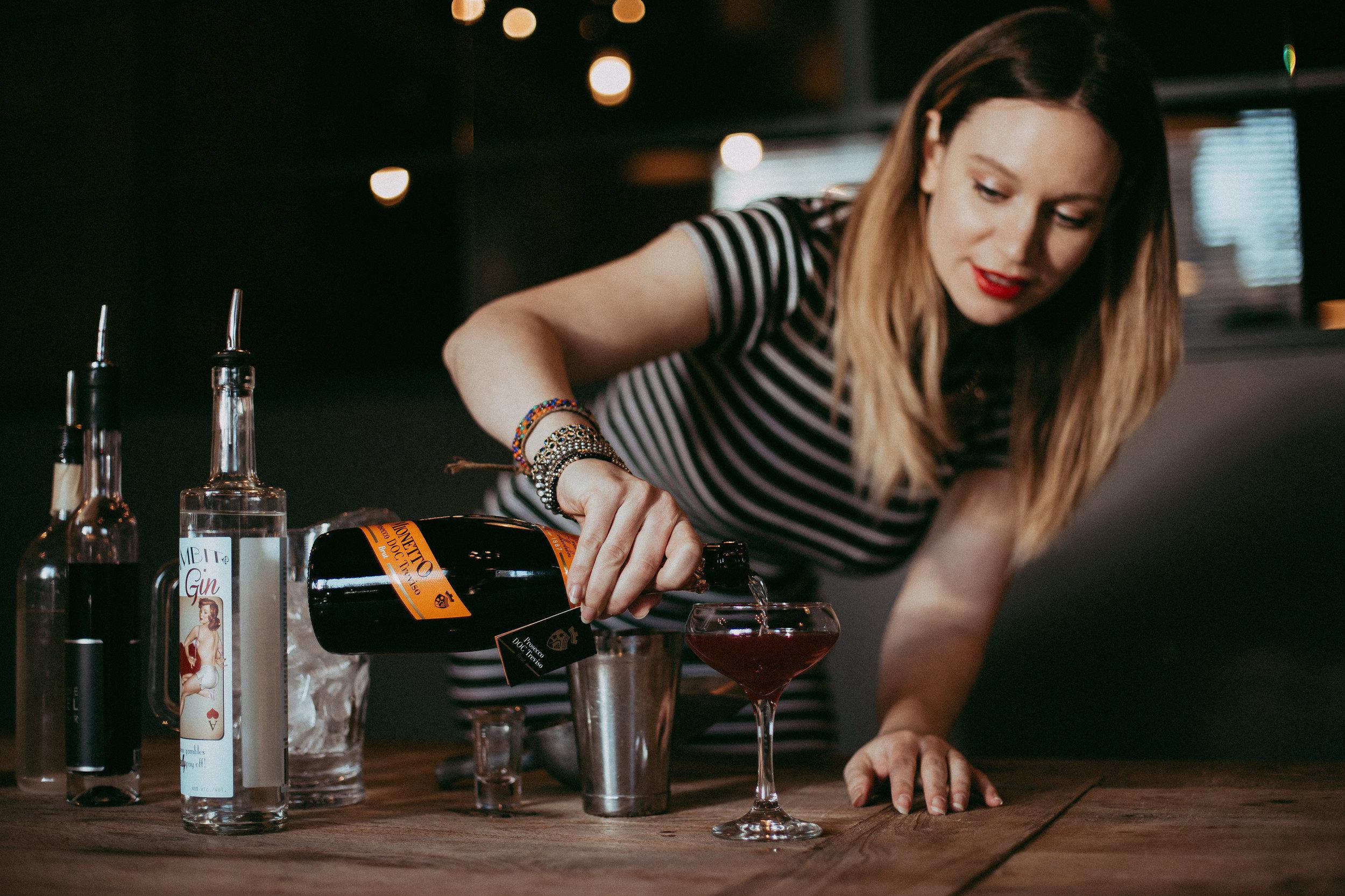 maygen kardash french 76 champagne cocktail recipe