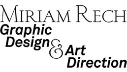 Miriam Rech Graphic Design