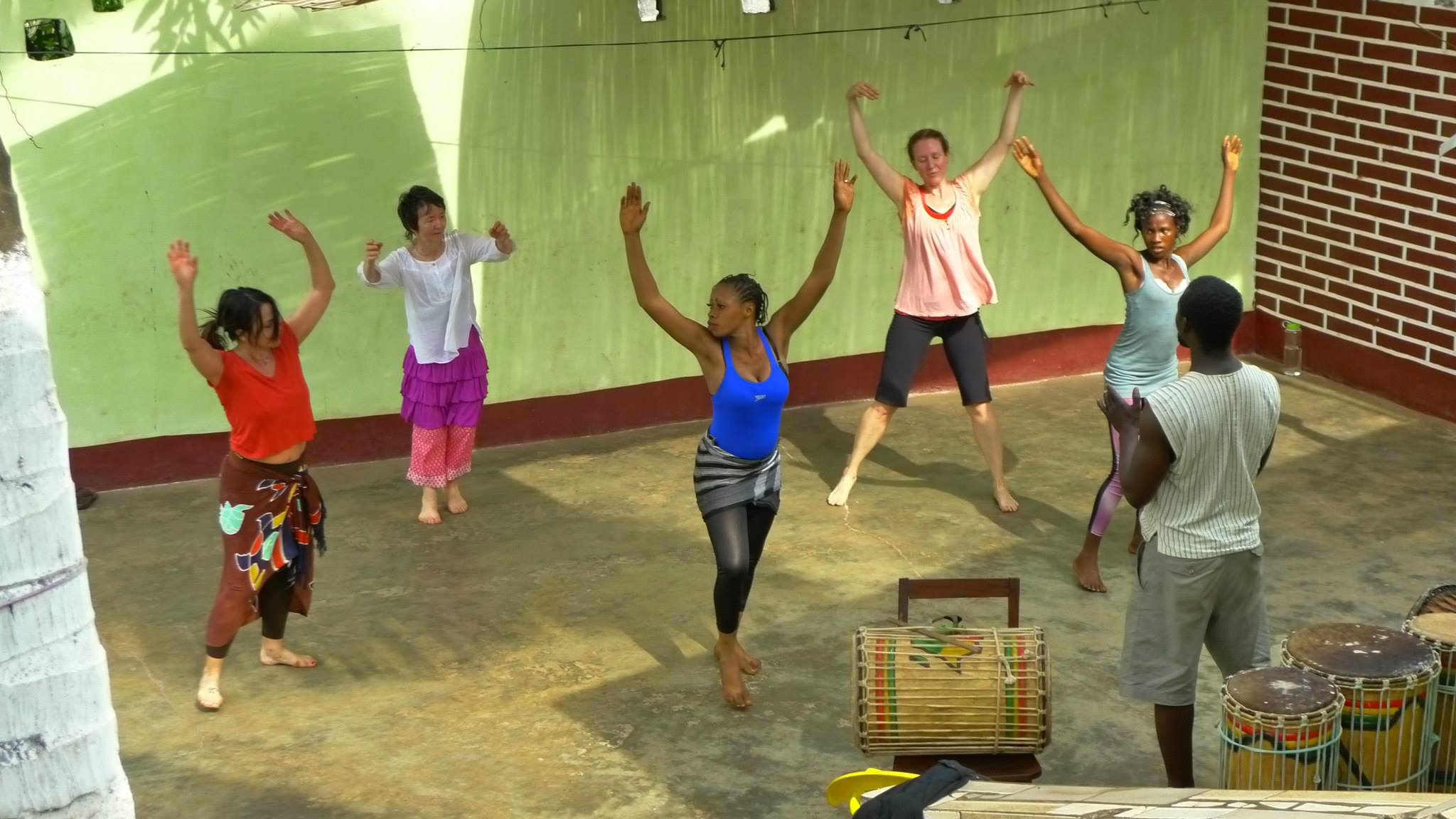 Dance students - Guinea, 2014