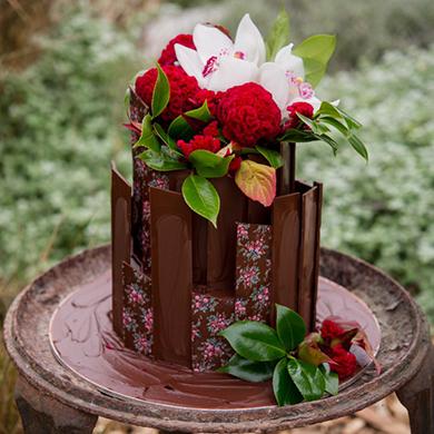 Chocolate Chard Cake