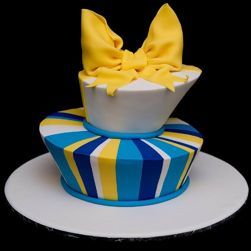 Topsy Turvy Madhatter Cake