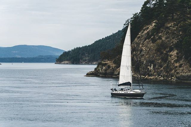 The ferry ride to Salt Spring Island offers up some great views!
