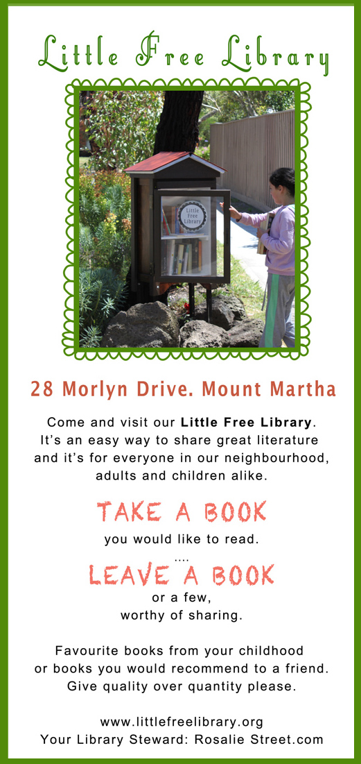 Little Free Library Flyer