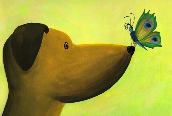 dog meets butterfly sml.jpg
