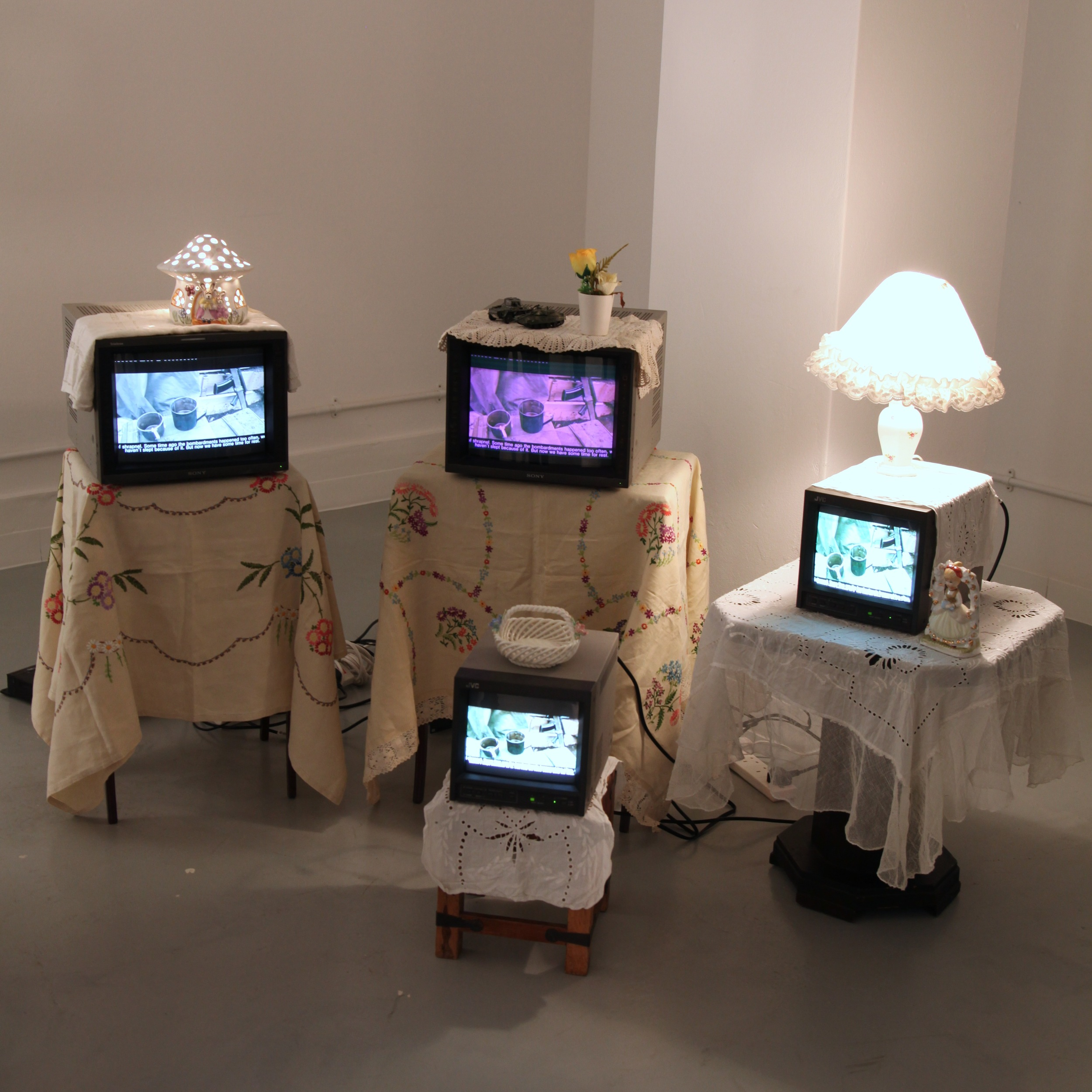 'Refuse : Refuge : Re-fuse' group exhibition.Curated by Gabriella Sonabend.
