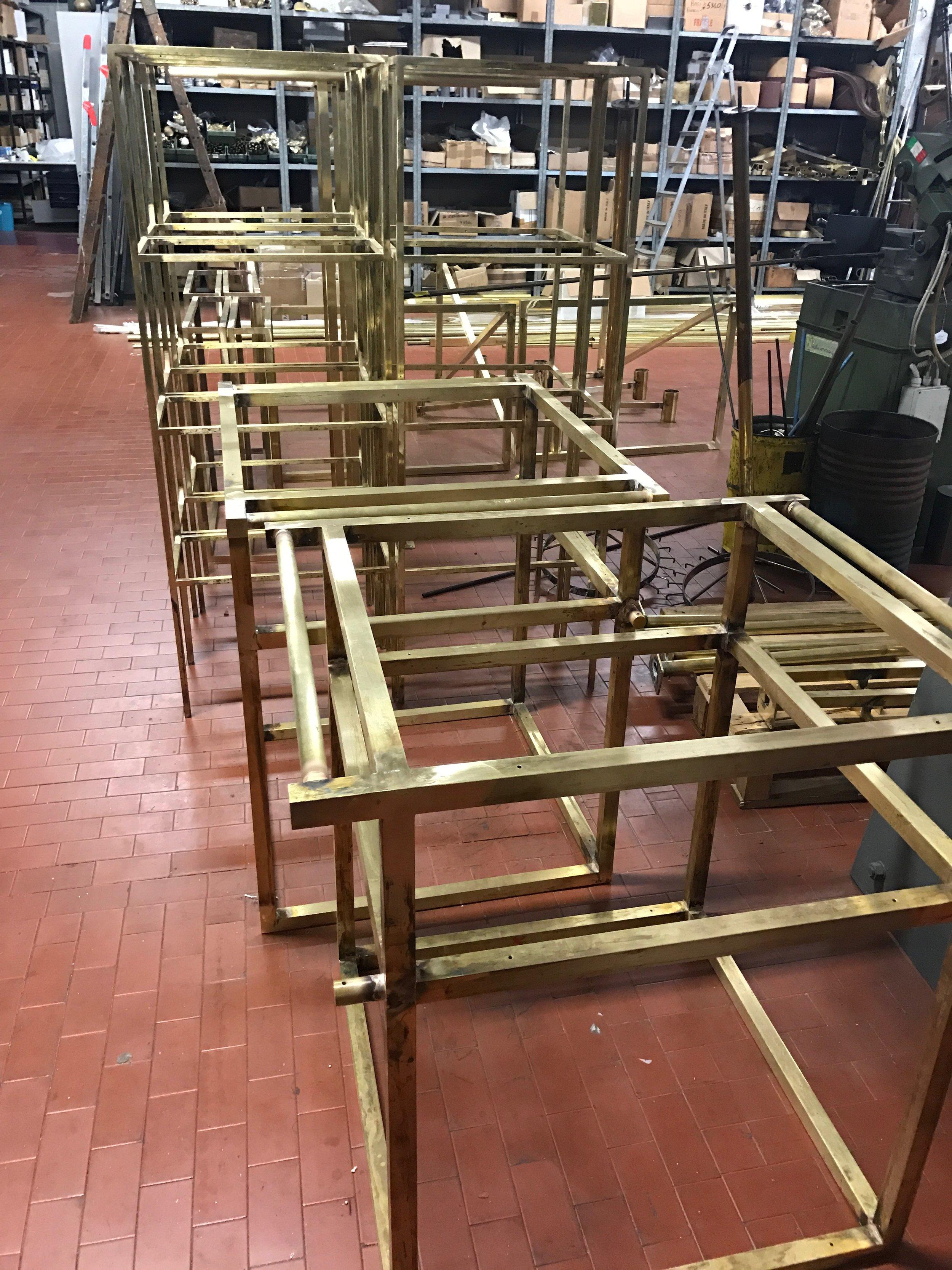 cabinet brass