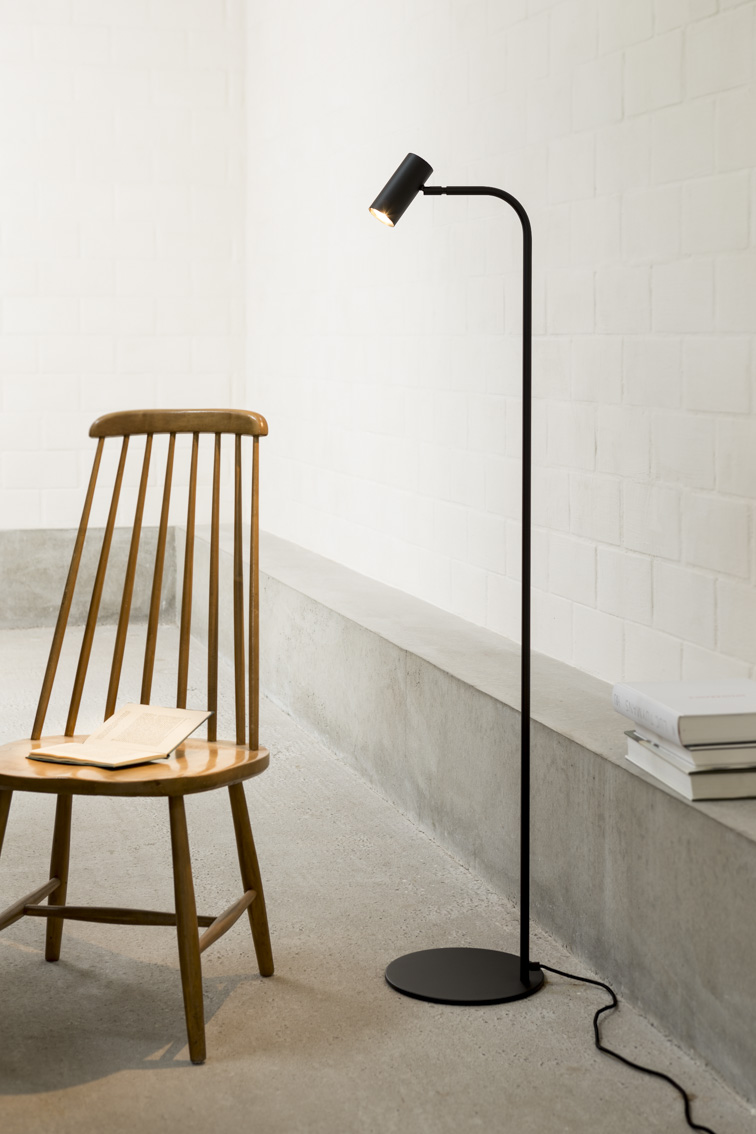 furniture floor lamp black