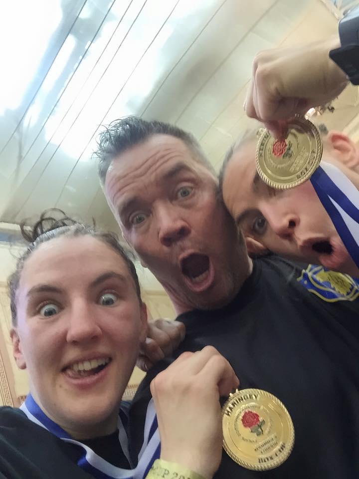 Sist Bk Örnen deltog, 2016, vann både Lise och Mia guld.