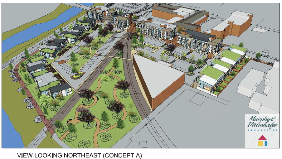 Murphy & Dittenhafer Architects York Pa Northwest Triangle Concept A1