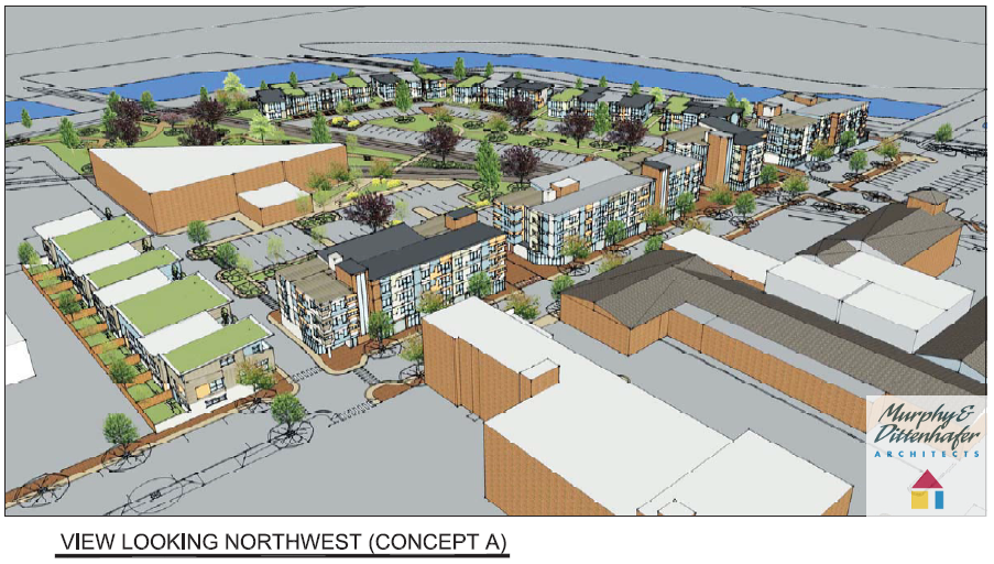 Murphy & Dittenhafer Architects York Pa Northwest Triangle Concept A2
