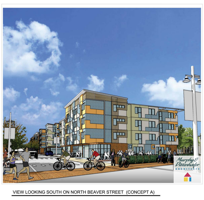 Murphy & Dittenhafer Architects York Pa Northwest Triangle Concept A3
