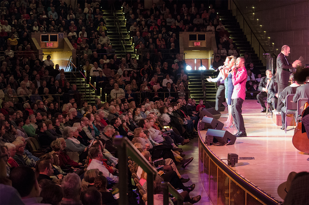 11 Singers on Stage at The Forum Auditorium.jpg
