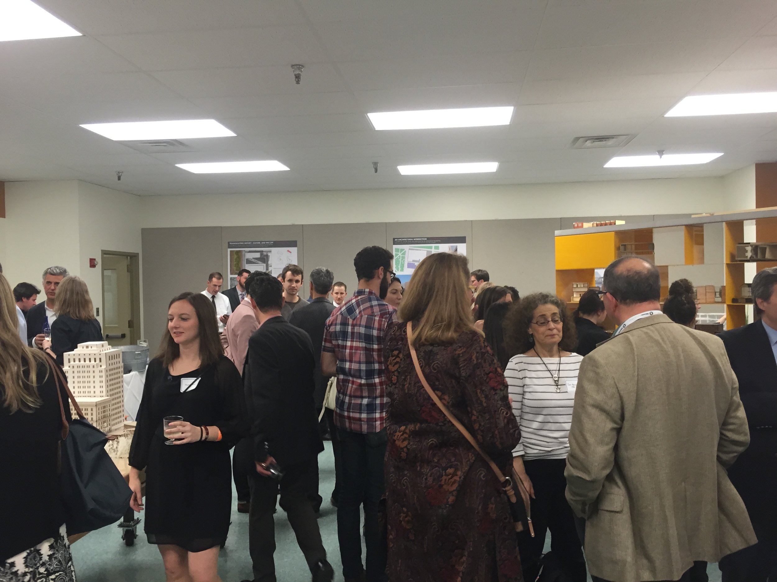 Scenes from a special PSU Architectural Alumni Reception during the AIA National Convention Philadelphia in May.