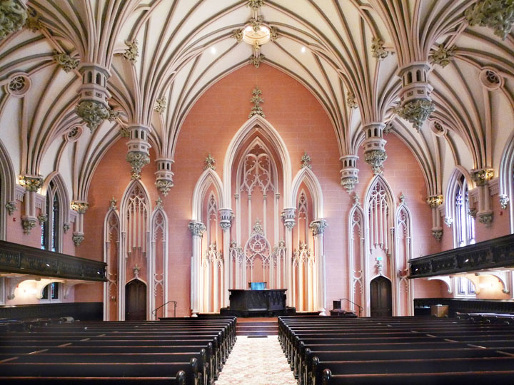 First & Franklin Presbyterian Church in Baltimore