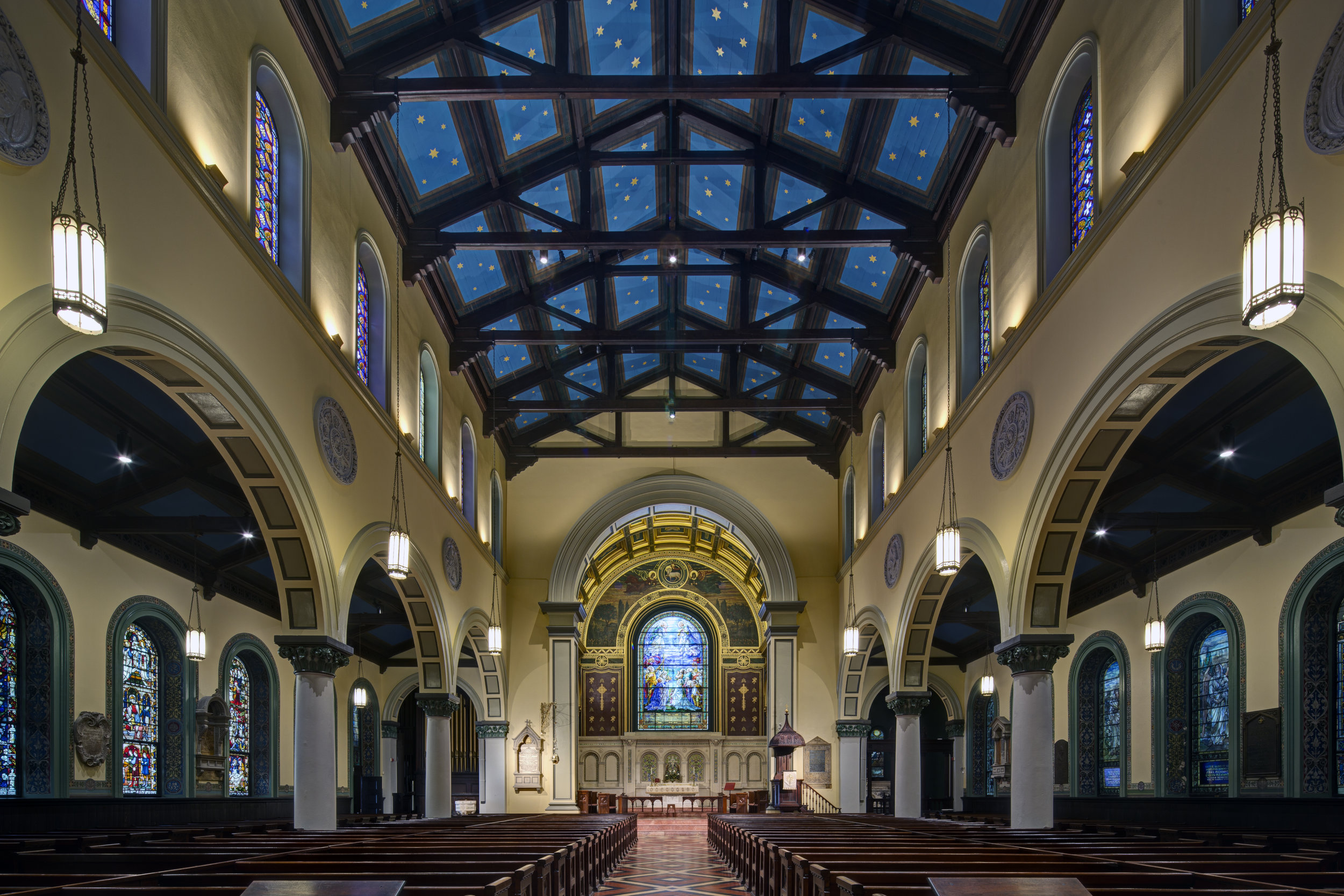 Old St. Paul's Church in downtown Baltimore