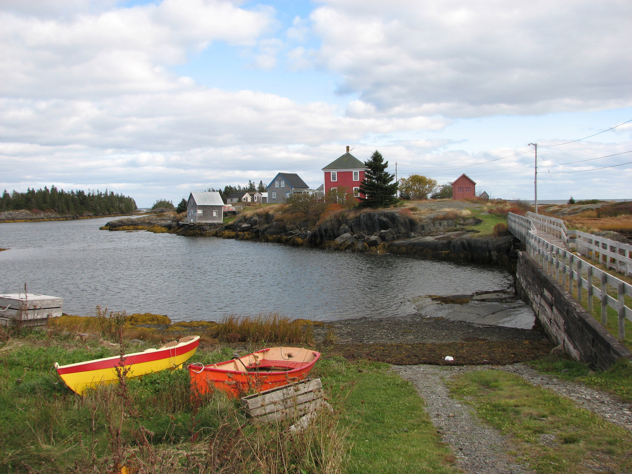 """Nova Scotia is """"such a rich, diverse province, and, to me, it's just a calming place to draw from,"""" Frank Dittenhafer says."""