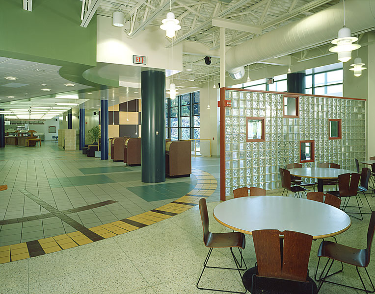 Bloomsburg University Scranton Commons Interior