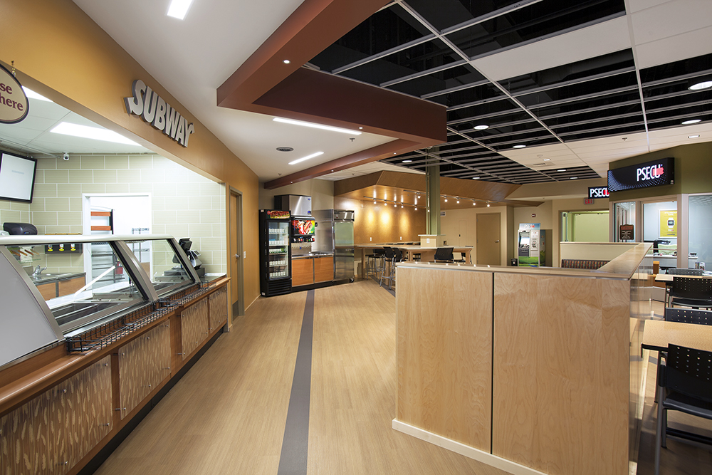 HACC Student Commons Interior
