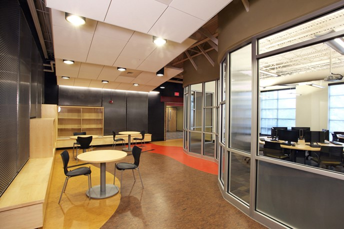 PSU Swenson Engineering Center Interior