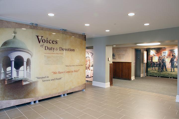 Seminary Ridge Museum Interior