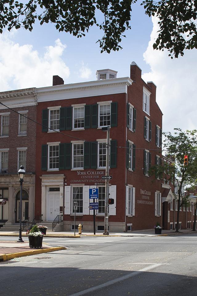 59 East Market Street Exterior façade restored
