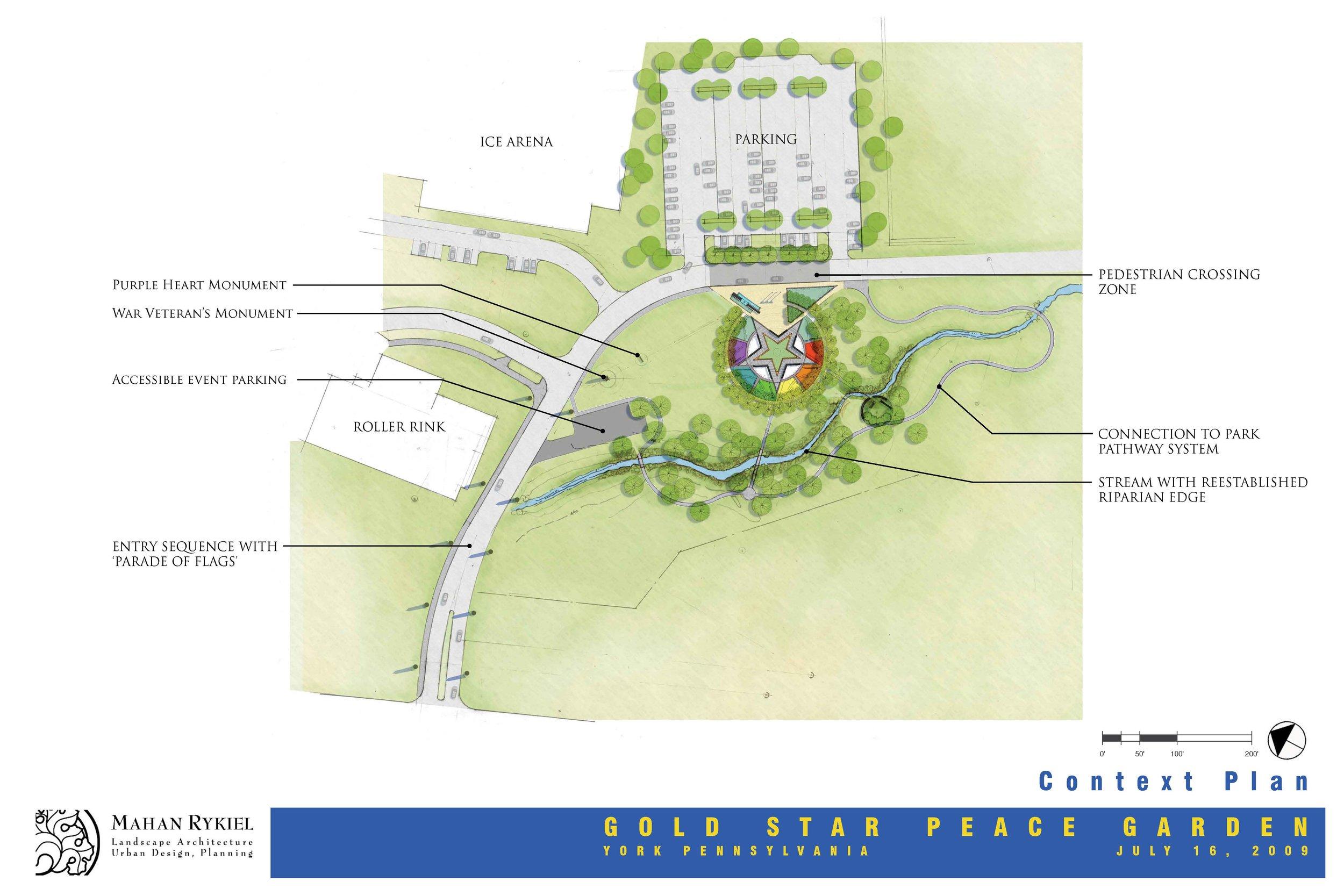 Gold Star Garden Concept Design 1