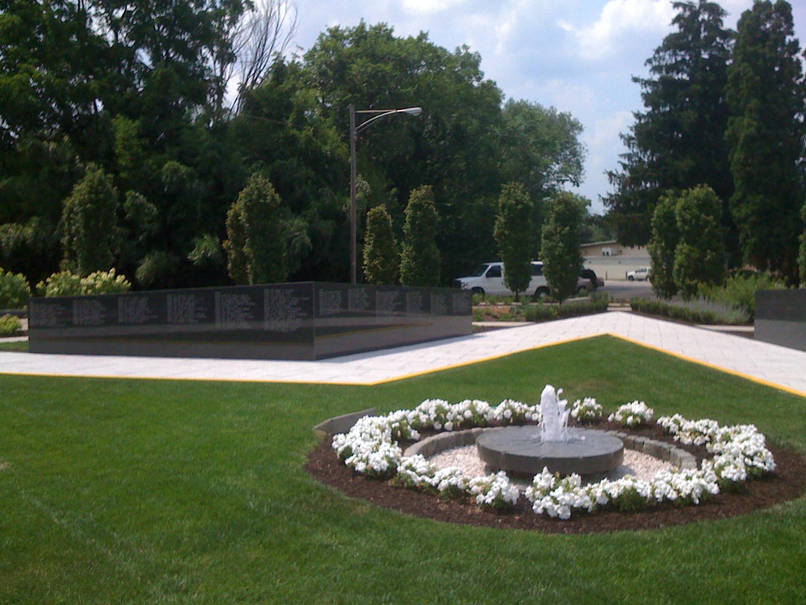 Gold Star Peace Garden