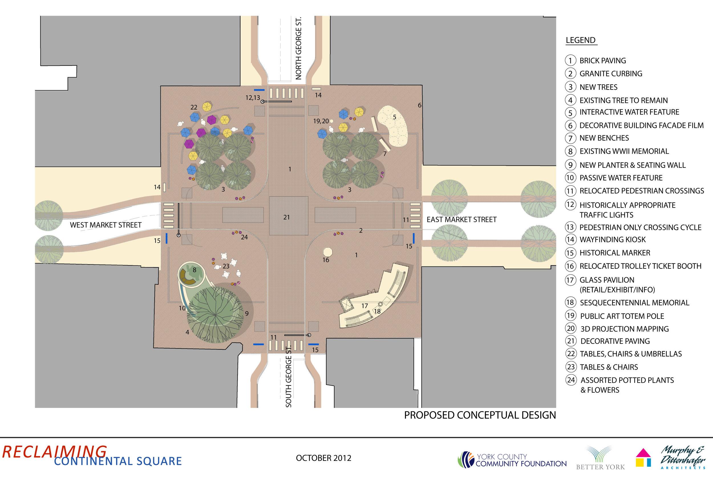 Continental Square Plan
