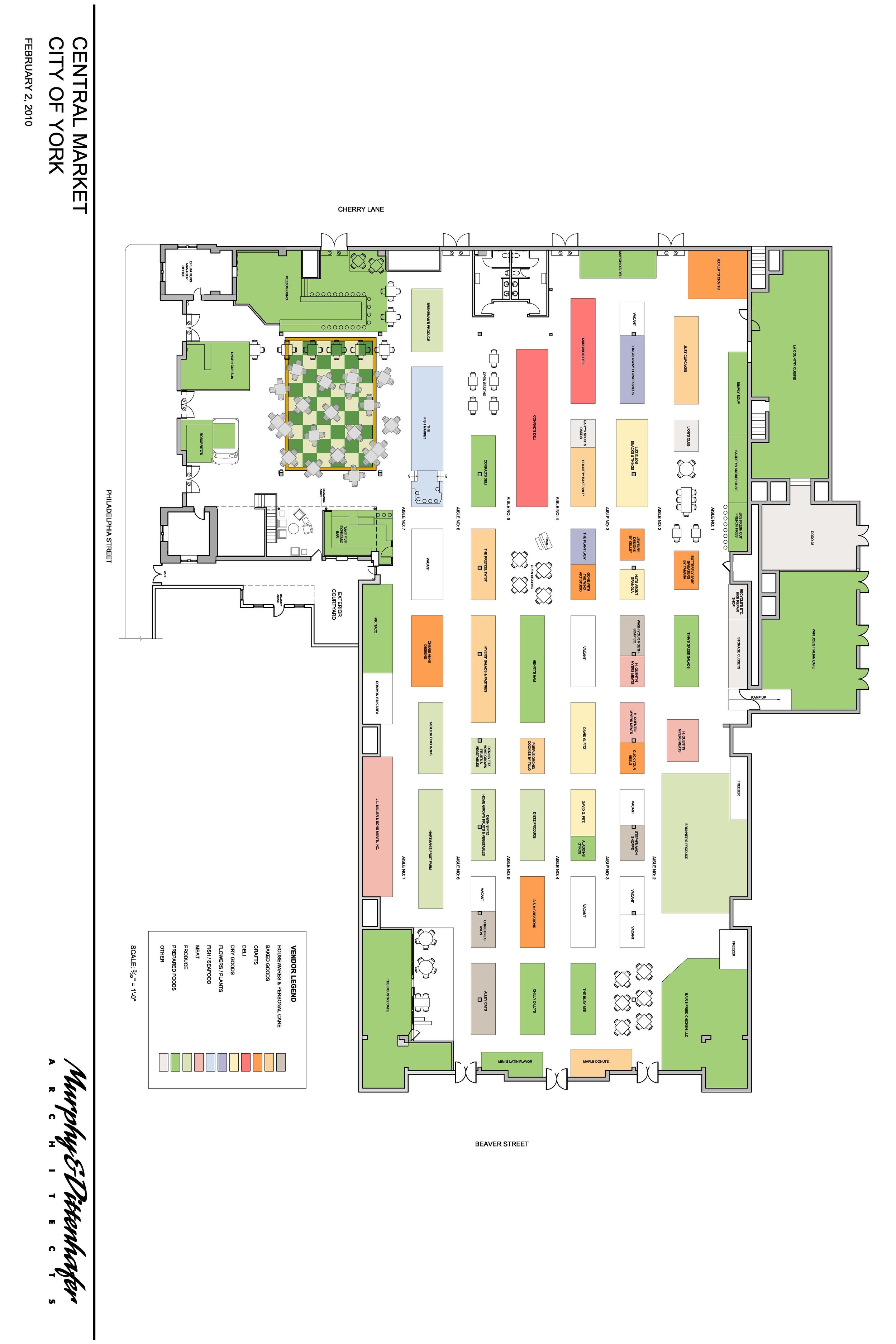 York Central Market plan