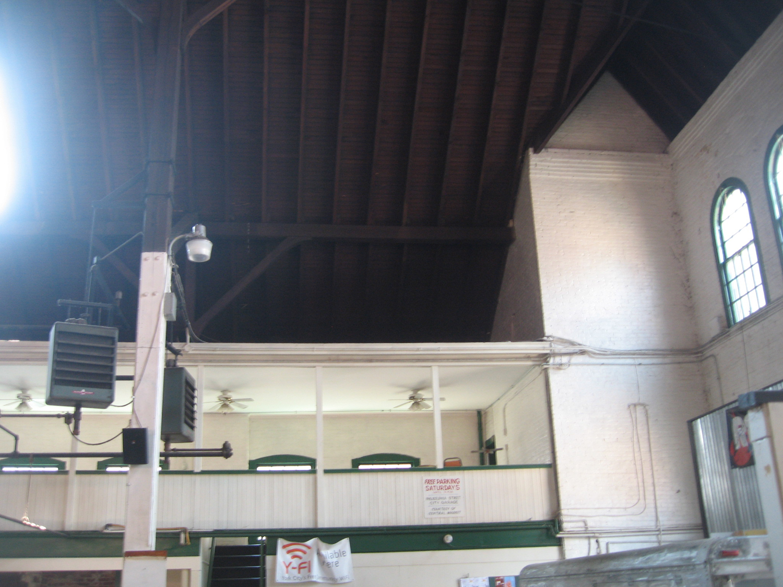 York Central Market House Interior - Before