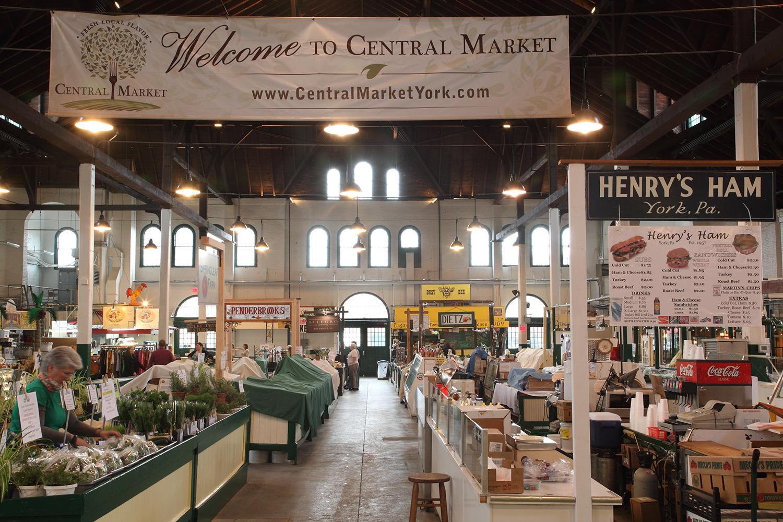 York Central Market House Interior - After