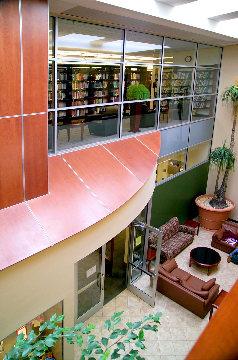 Penn State York – Smith Atrium and Lee Glatfelter Library