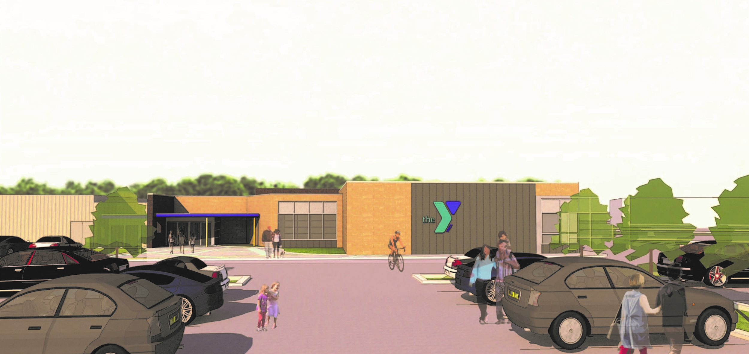 YMCA Southern Branch – rendering of proposed expansion