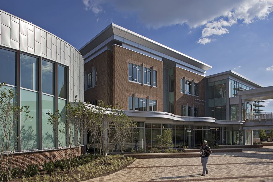 Lanham Hall at Prince George's Community College in Maryland