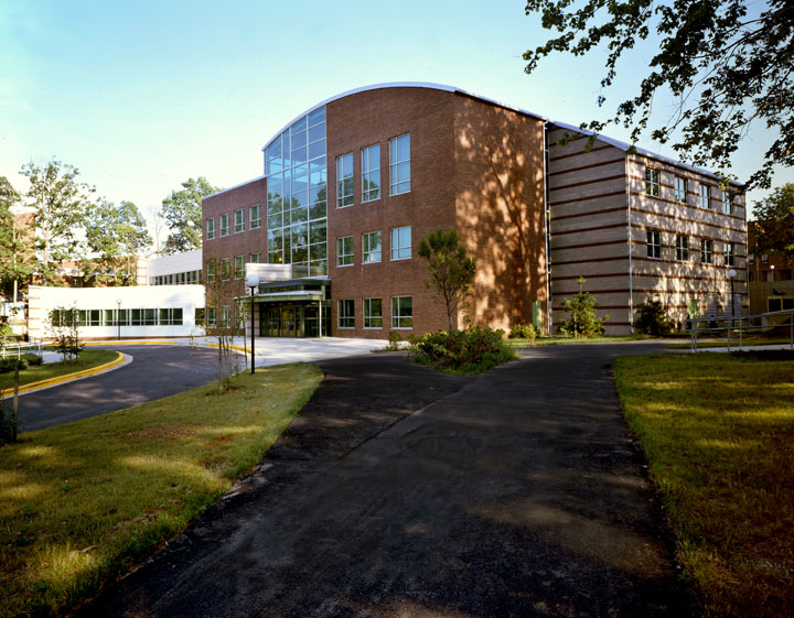 Student Services Building at Community College of Baltimore County in Essex, Maryland