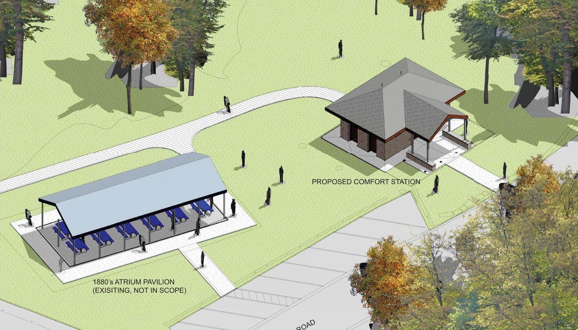 BCRP Druid Hill Park Comfort Station