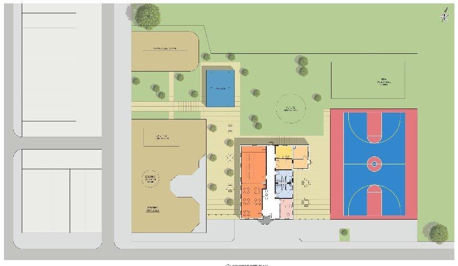 BCRP Bocek Park Field House Site Plan