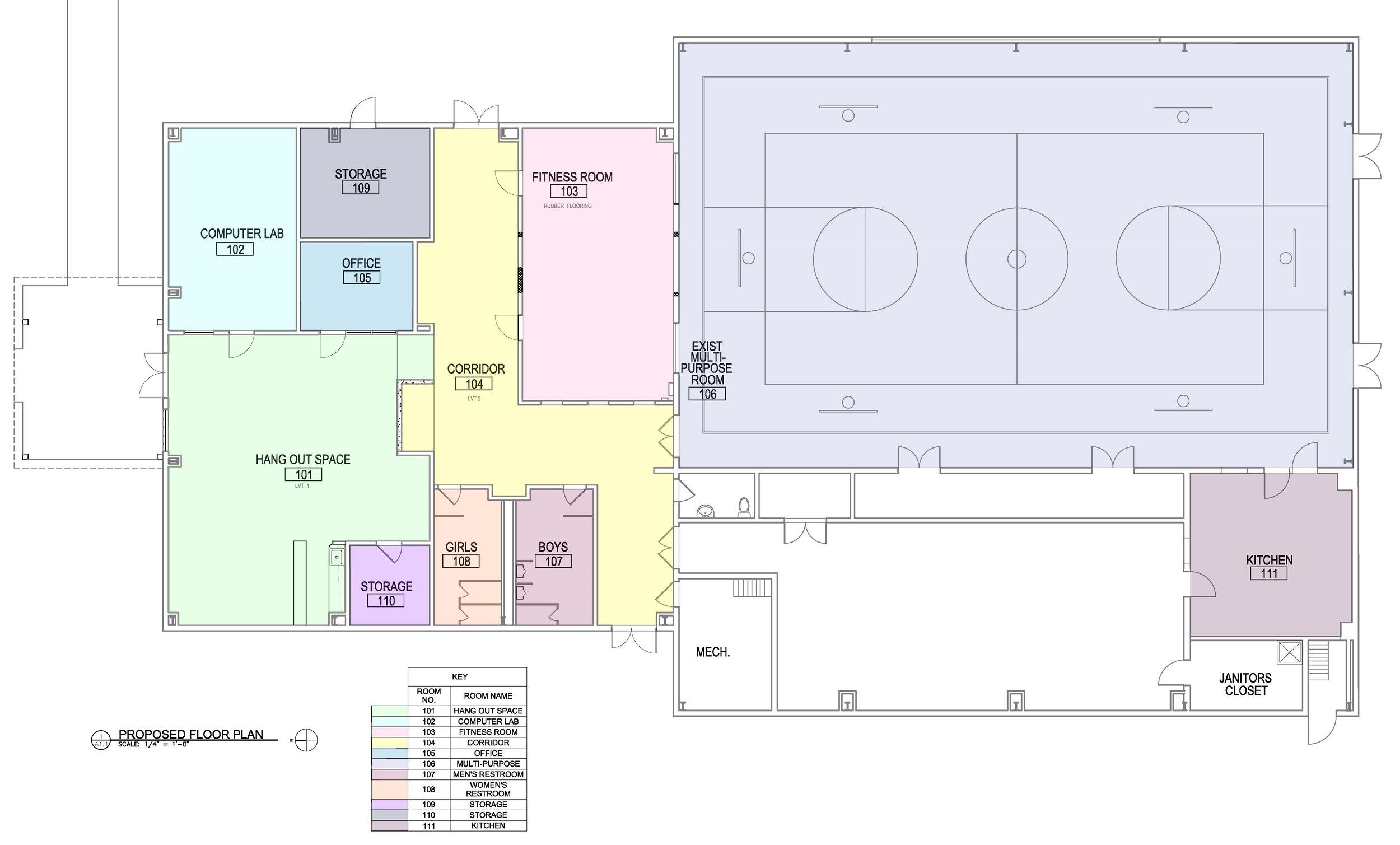 BCRP Towanda Proposed Floor Plan